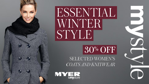 Myer 15-21 May 2013